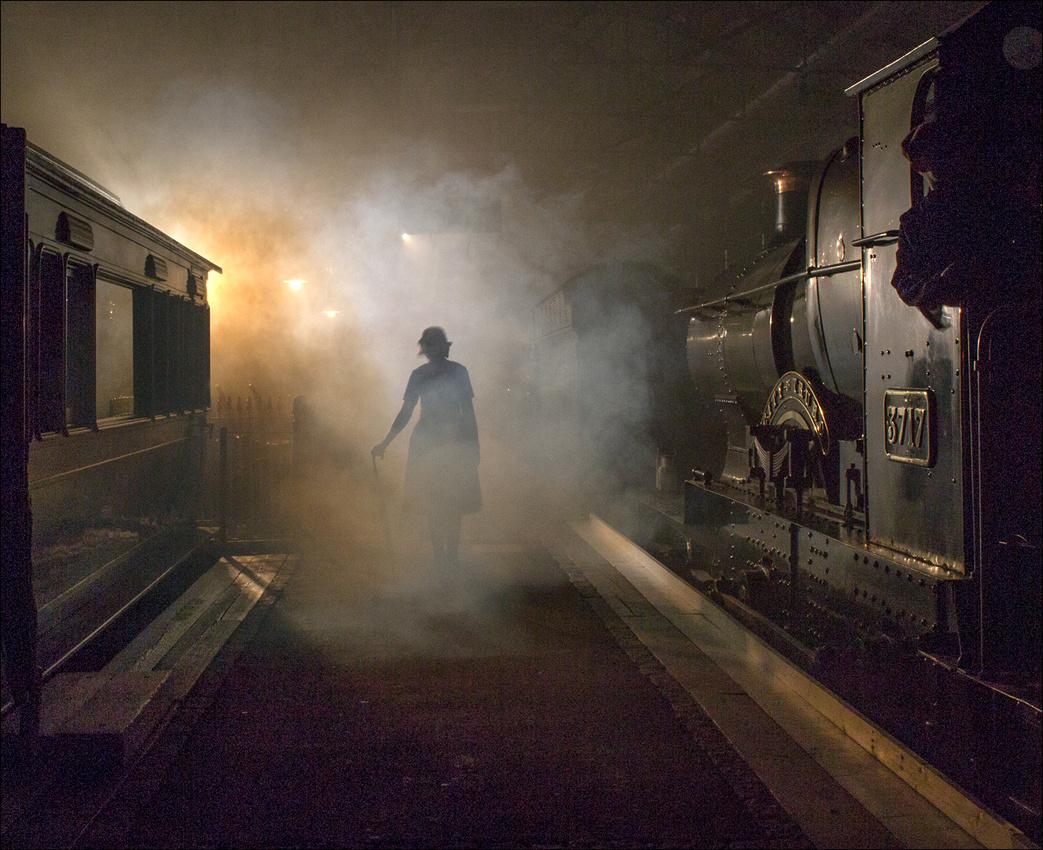 """""""Emerging Through The Steam"""""""