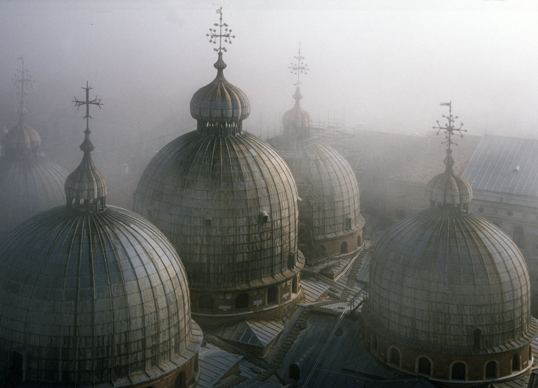 """St Marks In The Mist Venice"""