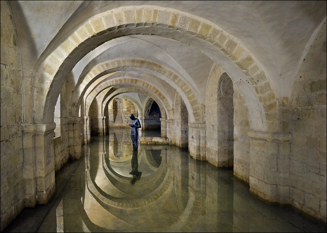 """Inside The Crypt Winchester Cathedral"""