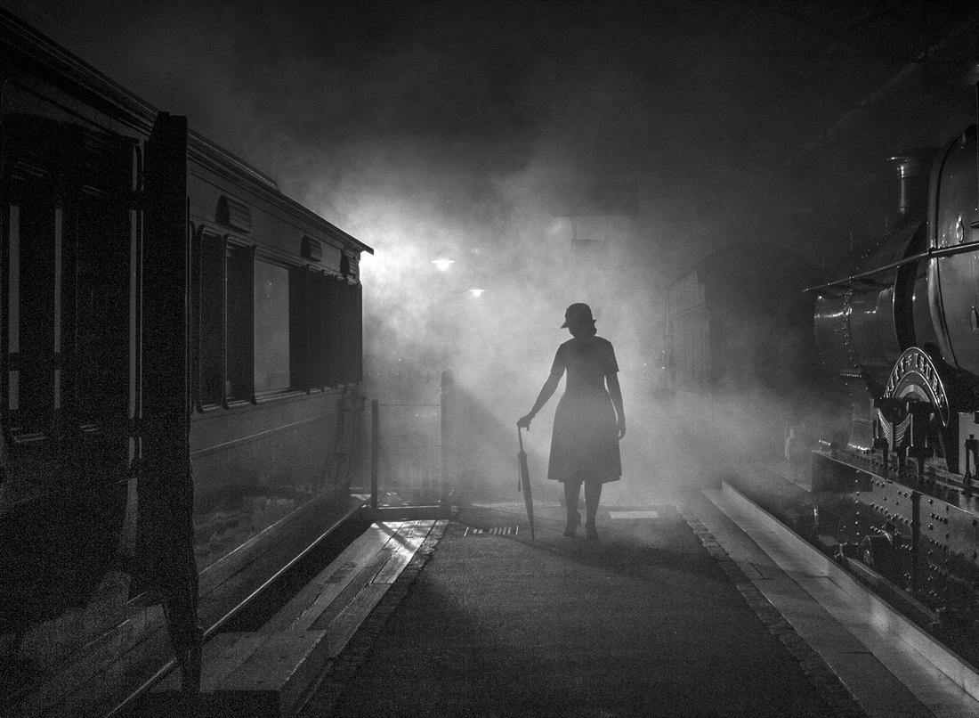 """Pausing On The Platform"""