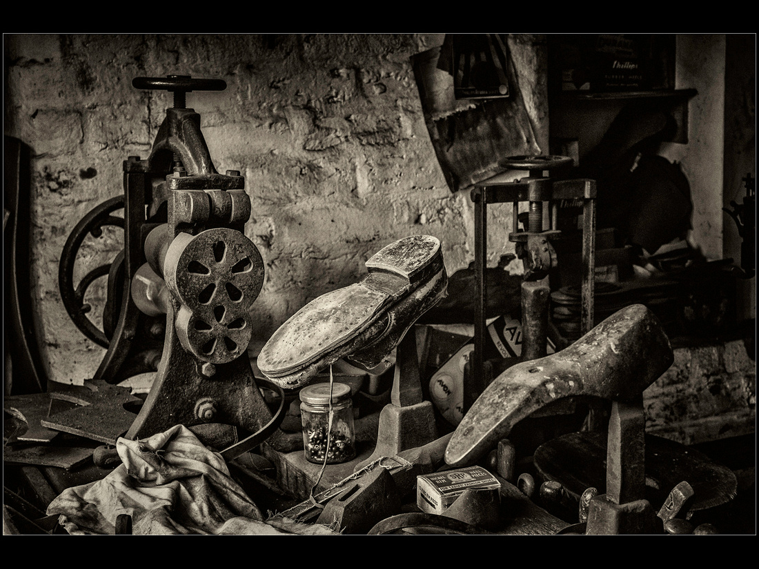 """The Cobbler's Workshop"""